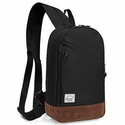 VASCHY Sling Bag, Mini Backpack Chest Pack One-Shoulder Cros