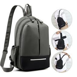 small backpack men travel bag nylon laptop backpacks school