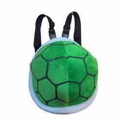 Super Mario Turtle Shell Plush Bagpack Koopa Troopa Stuffed