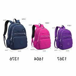 TEGAOTE School Backpack Teenage Girl Nylon Waterproof Casual