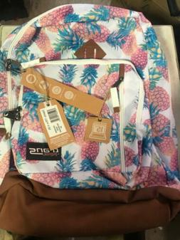"Trans by JanSport 18"" Dakoda Daypack - Pastel Pineapples NWT"