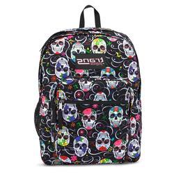 """Trans by JanSport® 17"""" SuperMax Backpack - Sugar Skulls"""
