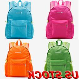 US Fashion Waterproof Nylon Women Backpack  Girls School Bag