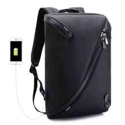 KAKA Waterproof Backpacks Laptop Bags USB Rucksacks School S