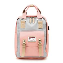 Waterproof Classic Backpack Women School Bags for Students T