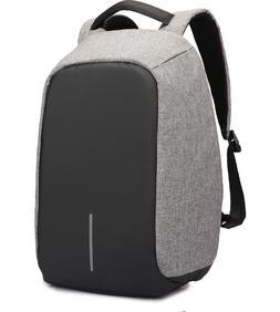 KAKA Waterproof Laptop Backpack Man Design Black/Gray