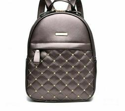 Womens Fashion Backpacks Girls Causal Beaded Pattern Bagpack