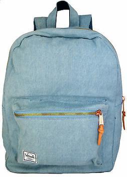 Zaino Uomo Donna Denim Blu Herschel Backpack Men Woman Denim